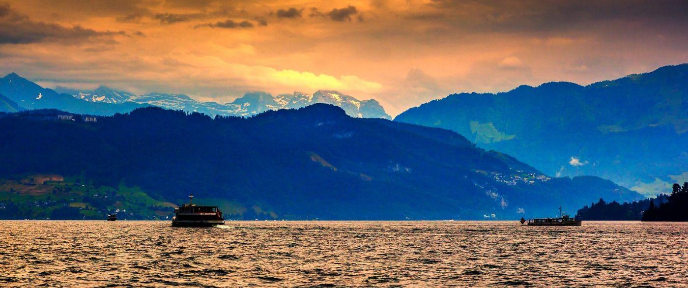瑞士卢塞恩(Lucerne),拨开云雾见光明_图1-16