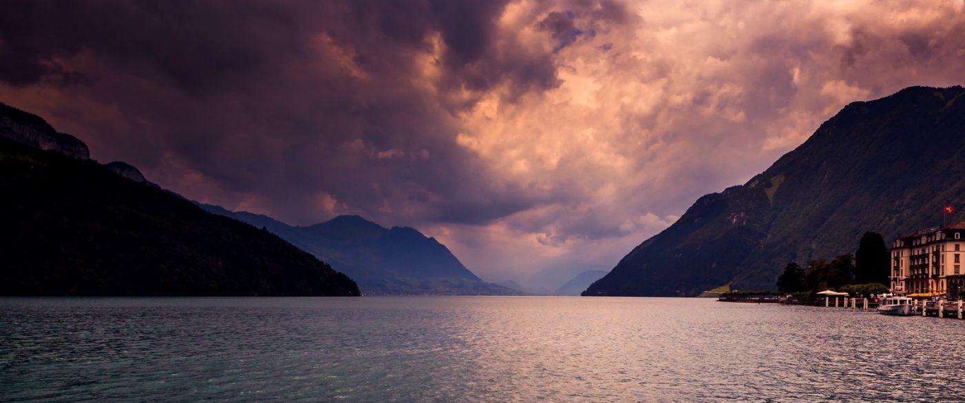 瑞士卢塞恩(Lucerne),拨开云雾见光明_图1-13