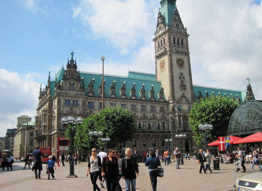 汉堡.德国重要港口工业城市_图1-1
