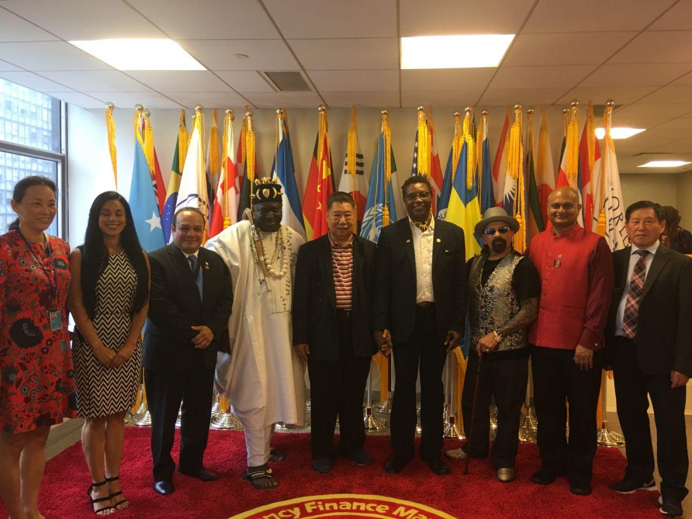 聯合國中華媽祖文化發展基金會受邀参加聯合國納尔遜.曼德拉国际日的一系列活动 ..._图1-4