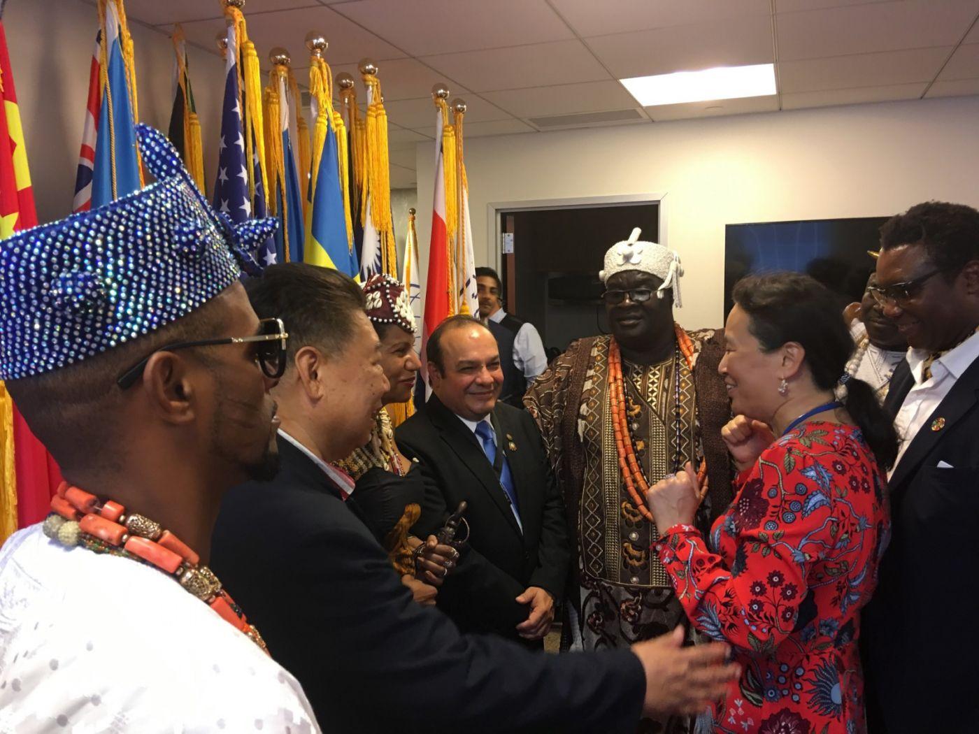 聯合國中華媽祖文化發展基金會受邀参加聯合國納尔遜.曼德拉国际日的一系列活动 ..._图1-5