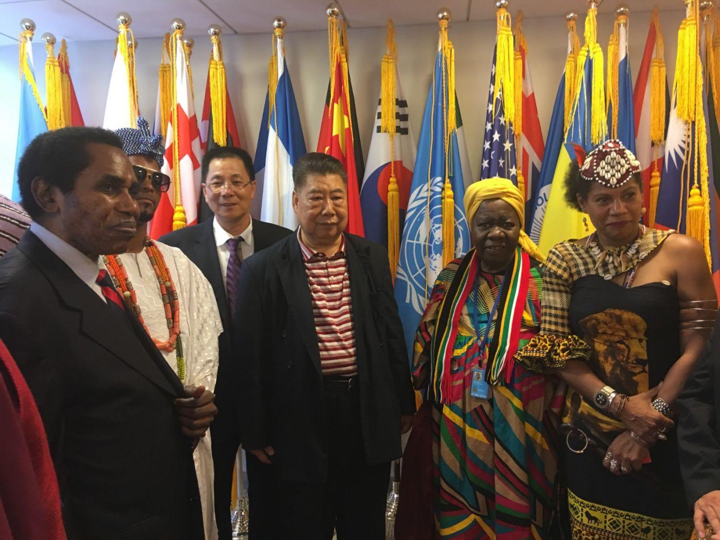 聯合國中華媽祖文化發展基金會受邀参加聯合國納尔遜.曼德拉国际日的一系列活动 ..._图1-10