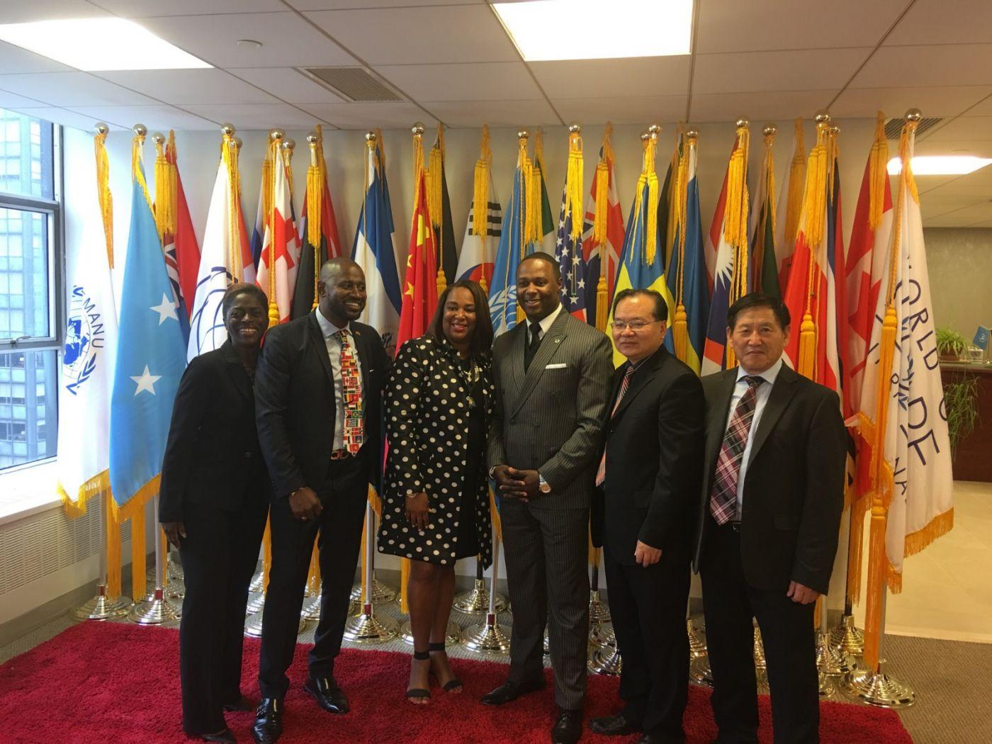 聯合國中華媽祖文化發展基金會受邀参加聯合國納尔遜.曼德拉国际日的一系列活动 ..._图1-11