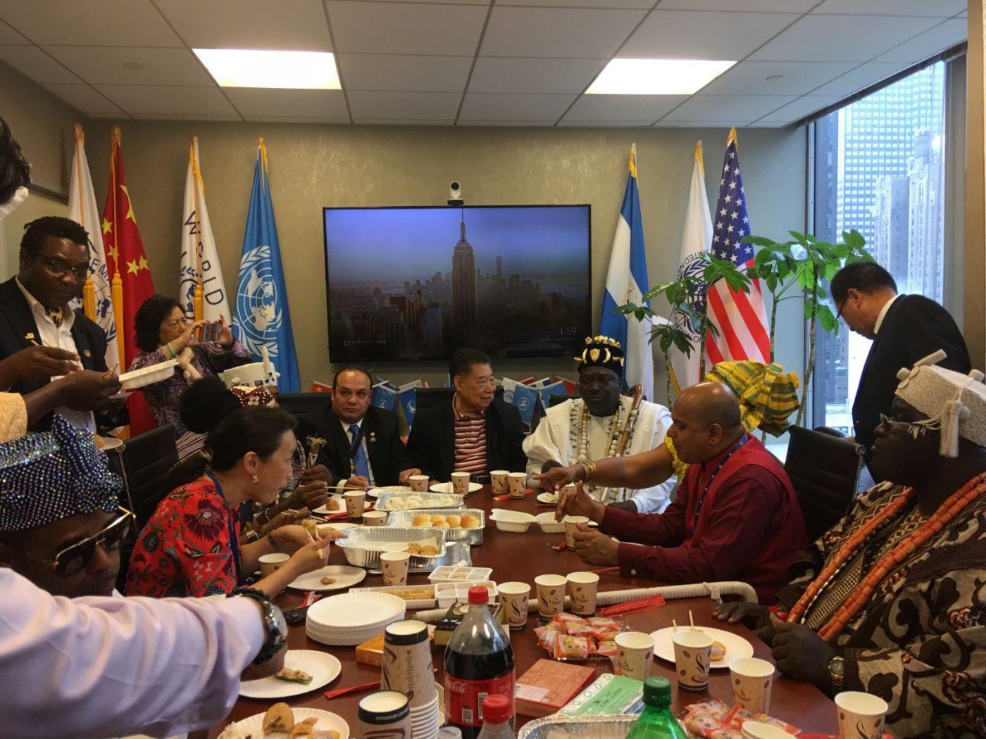 聯合國中華媽祖文化發展基金會受邀参加聯合國納尔遜.曼德拉国际日的一系列活动 ..._图1-12