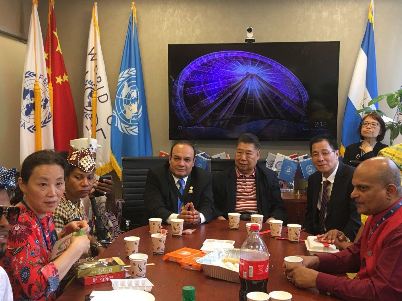 聯合國中華媽祖文化發展基金會受邀参加聯合國納尔遜.曼德拉国际日的一系列活动 ..._图1-13