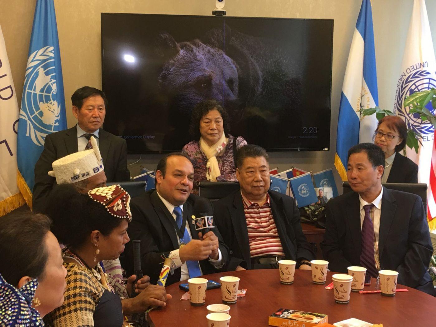 聯合國中華媽祖文化發展基金會受邀参加聯合國納尔遜.曼德拉国际日的一系列活动 ..._图1-14