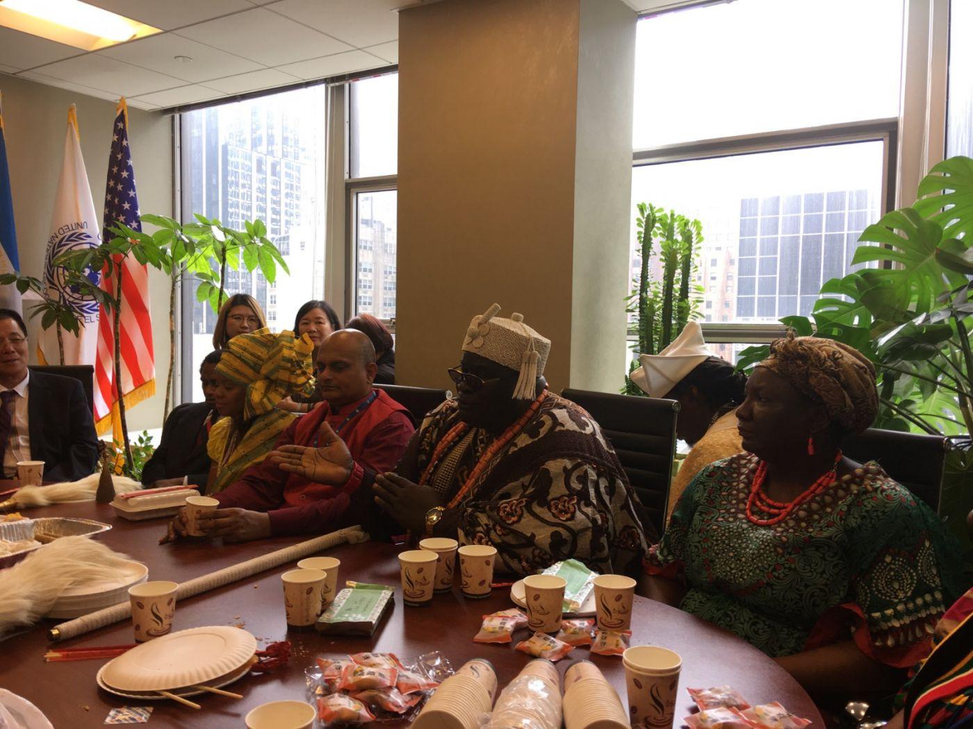 聯合國中華媽祖文化發展基金會受邀参加聯合國納尔遜.曼德拉国际日的一系列活动 ..._图1-15