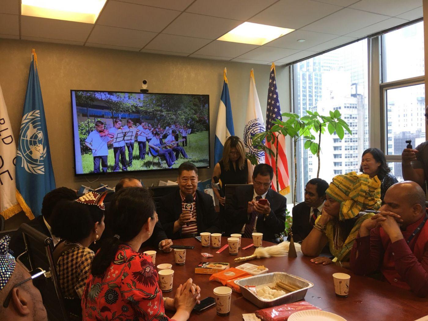 聯合國中華媽祖文化發展基金會受邀参加聯合國納尔遜.曼德拉国际日的一系列活动 ..._图1-16