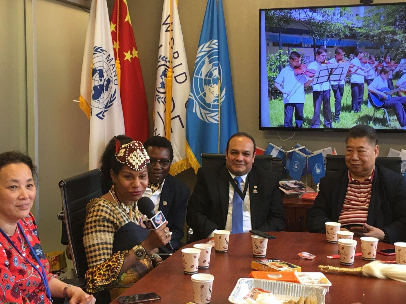 聯合國中華媽祖文化發展基金會受邀参加聯合國納尔遜.曼德拉国际日的一系列活动 ..._图1-18