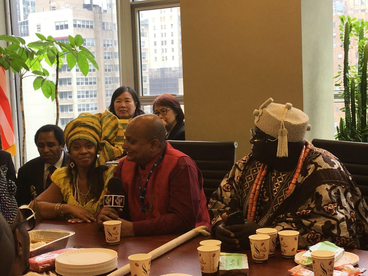 聯合國中華媽祖文化發展基金會受邀参加聯合國納尔遜.曼德拉国际日的一系列活动 ..._图1-19