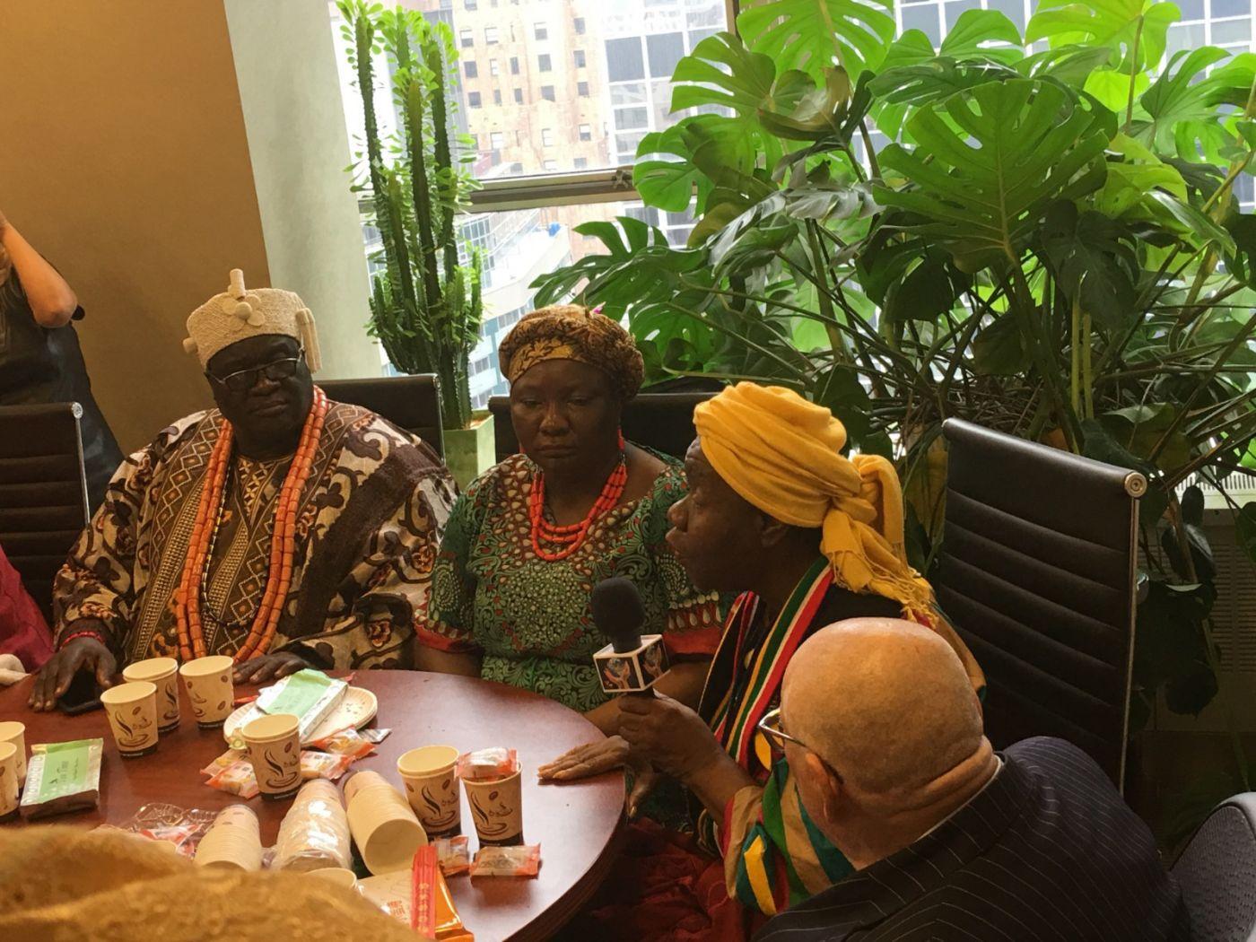 聯合國中華媽祖文化發展基金會受邀参加聯合國納尔遜.曼德拉国际日的一系列活动 ..._图1-20