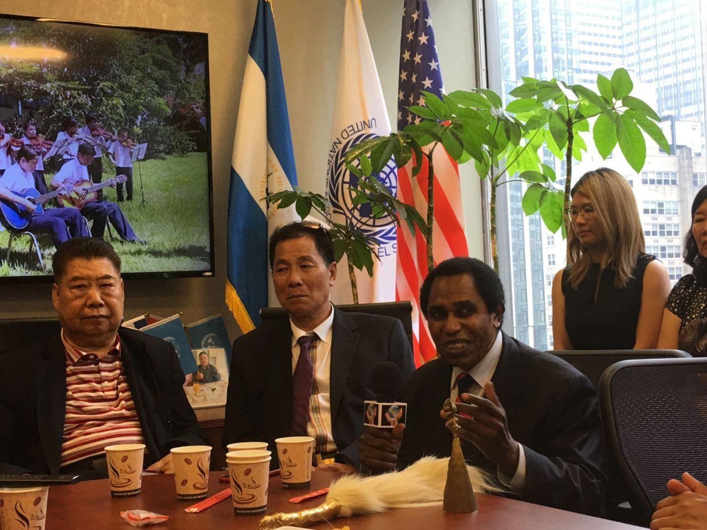 聯合國中華媽祖文化發展基金會受邀参加聯合國納尔遜.曼德拉国际日的一系列活动 ..._图1-21