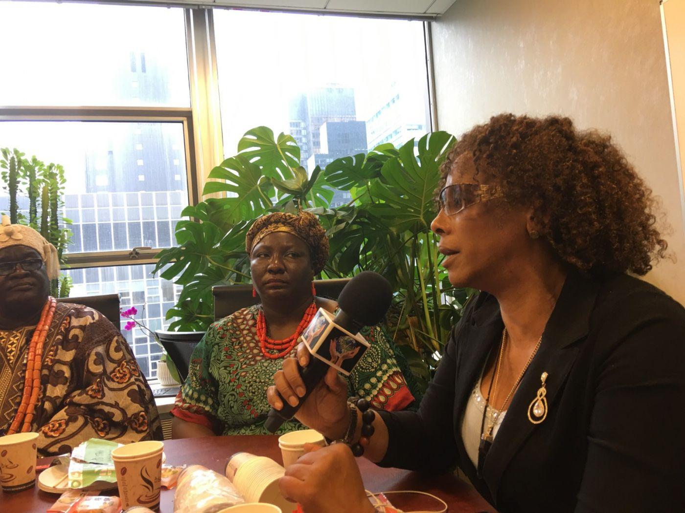 聯合國中華媽祖文化發展基金會受邀参加聯合國納尔遜.曼德拉国际日的一系列活动 ..._图1-22