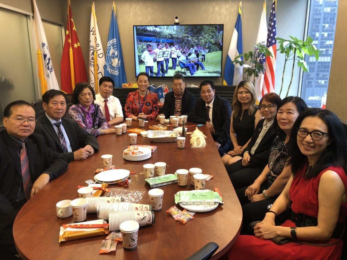 聯合國中華媽祖文化發展基金會受邀参加聯合國納尔遜.曼德拉国际日的一系列活动 ..._图1-24