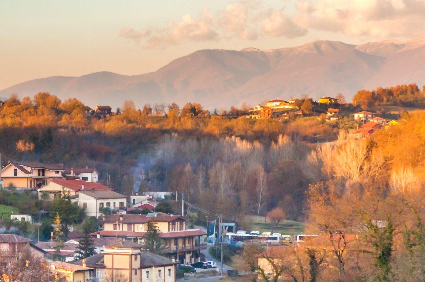 意大利路途,黄昏时的乡村_图1-5