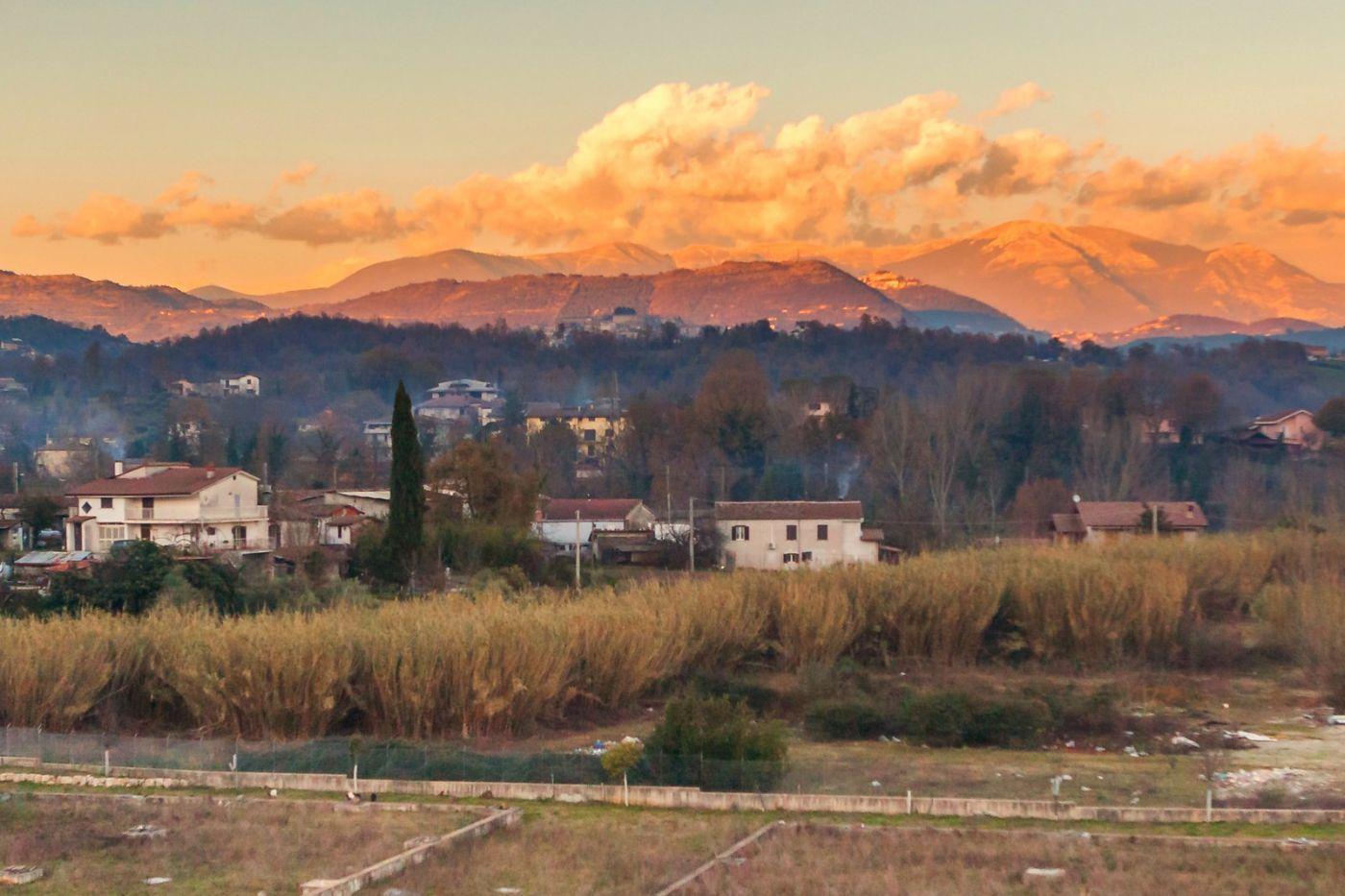 意大利路途,黄昏时的乡村_图1-4
