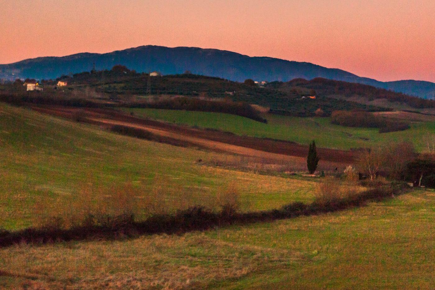 意大利路途,黄昏时的乡村_图1-9