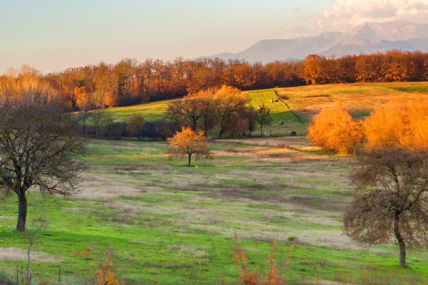 意大利路途,黄昏时的乡村_图1-16