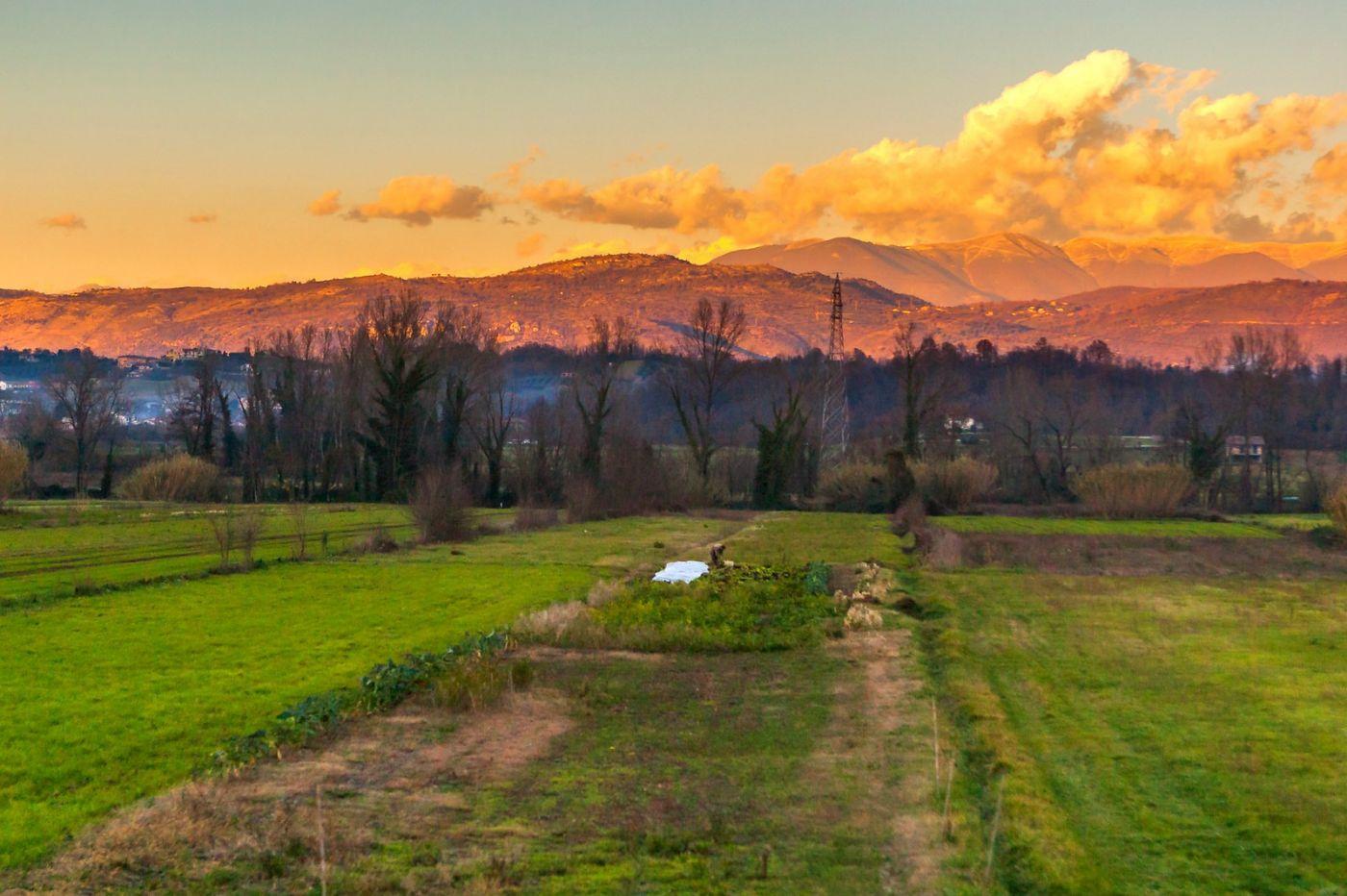 意大利路途,黄昏时的乡村_图1-19