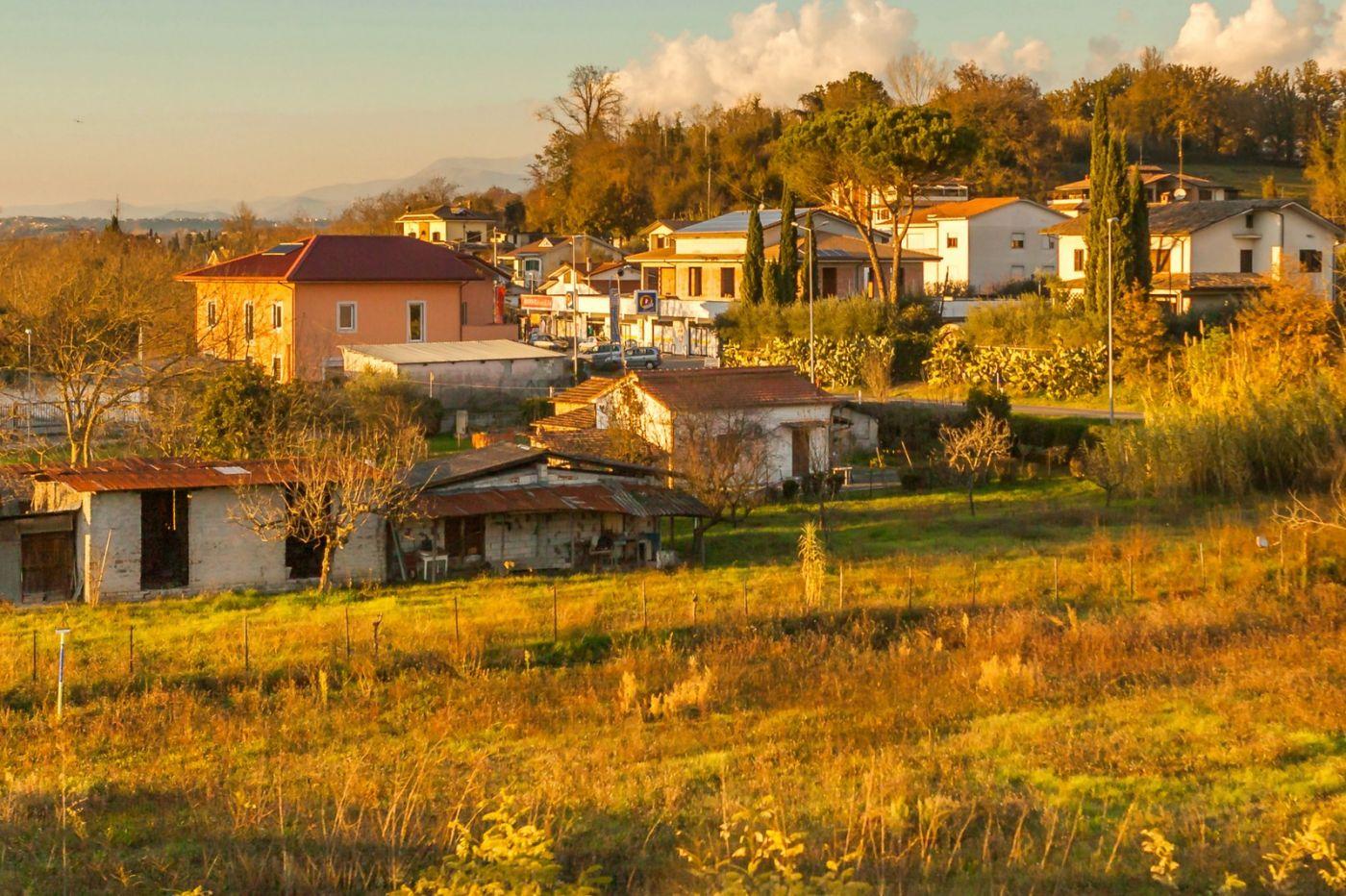 意大利路途,黄昏时的乡村_图1-24