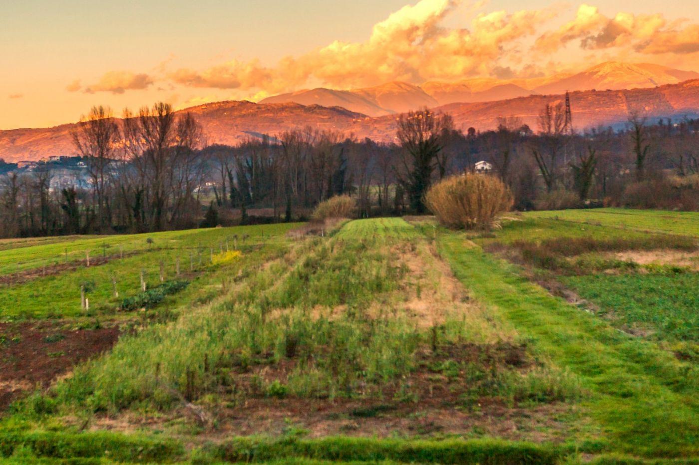 意大利路途,黄昏时的乡村_图1-22