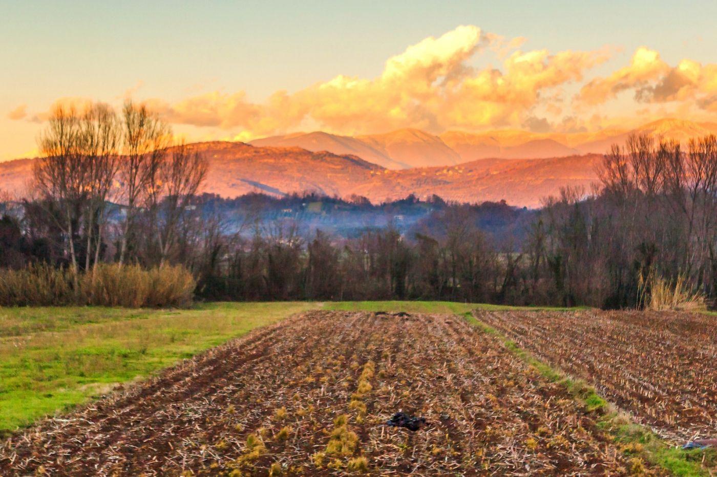 意大利路途,黄昏时的乡村_图1-25