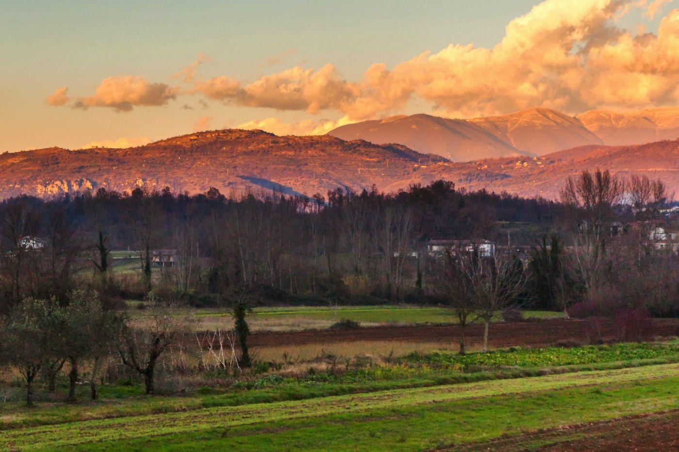 意大利路途,黄昏时的乡村_图1-32