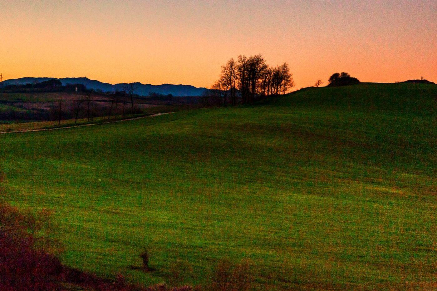 意大利路途,黄昏时的乡村_图1-31