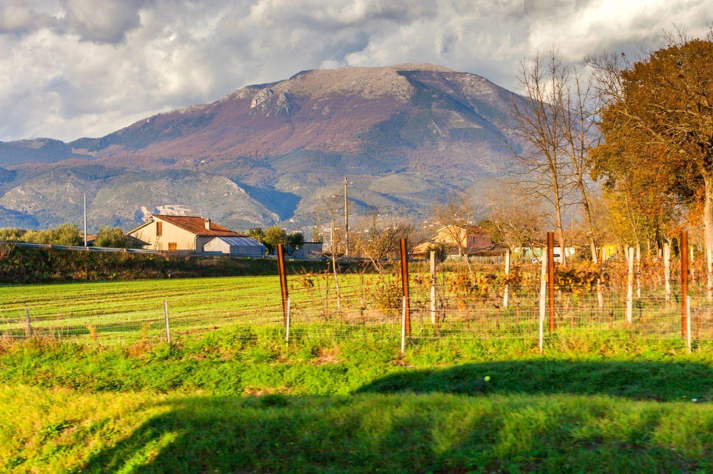 意大利路途,黄昏时的乡村_图1-36