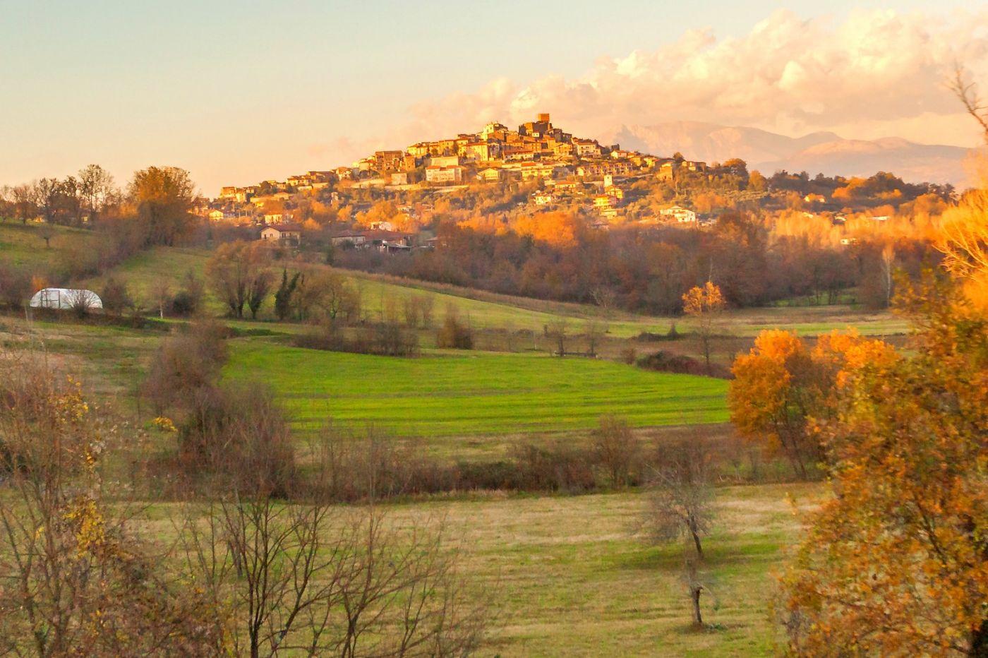 意大利路途,黄昏时的乡村_图1-38