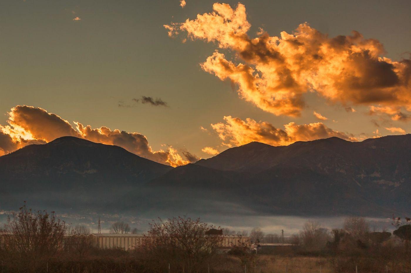 意大利路途,黄昏时的乡村_图1-37