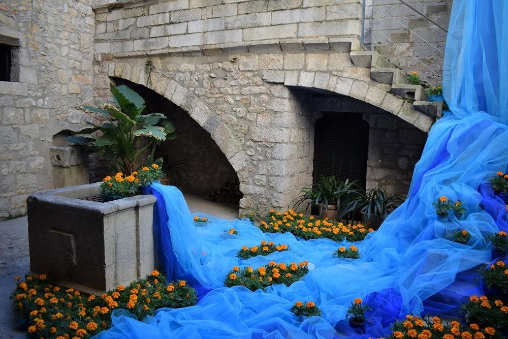 加泰罗尼亚小城--赫罗纳鲜花节  2_图1-1