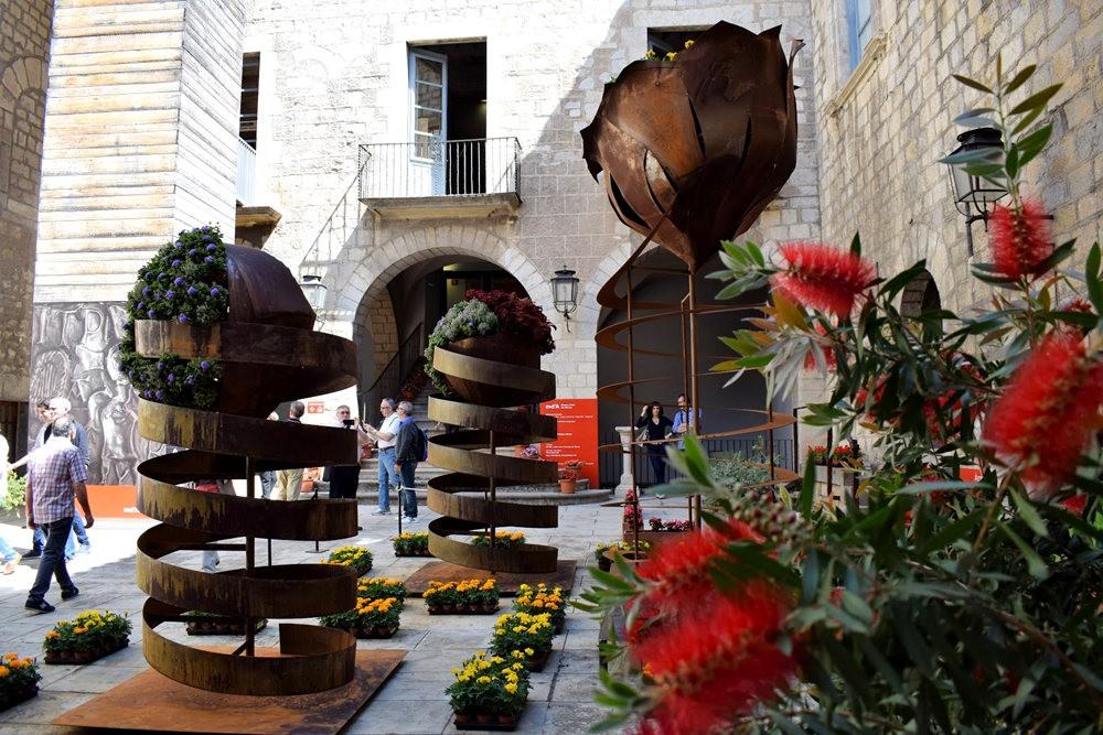 加泰罗尼亚小城--赫罗纳鲜花节  2_图1-4