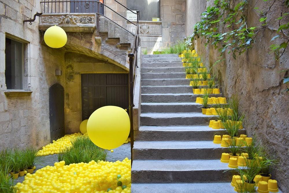 加泰罗尼亚小城--赫罗纳鲜花节  2_图1-6