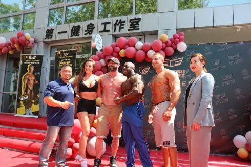 高娓娓:第一健身工作室First Fitness精彩亮相美国纽约_图1-16