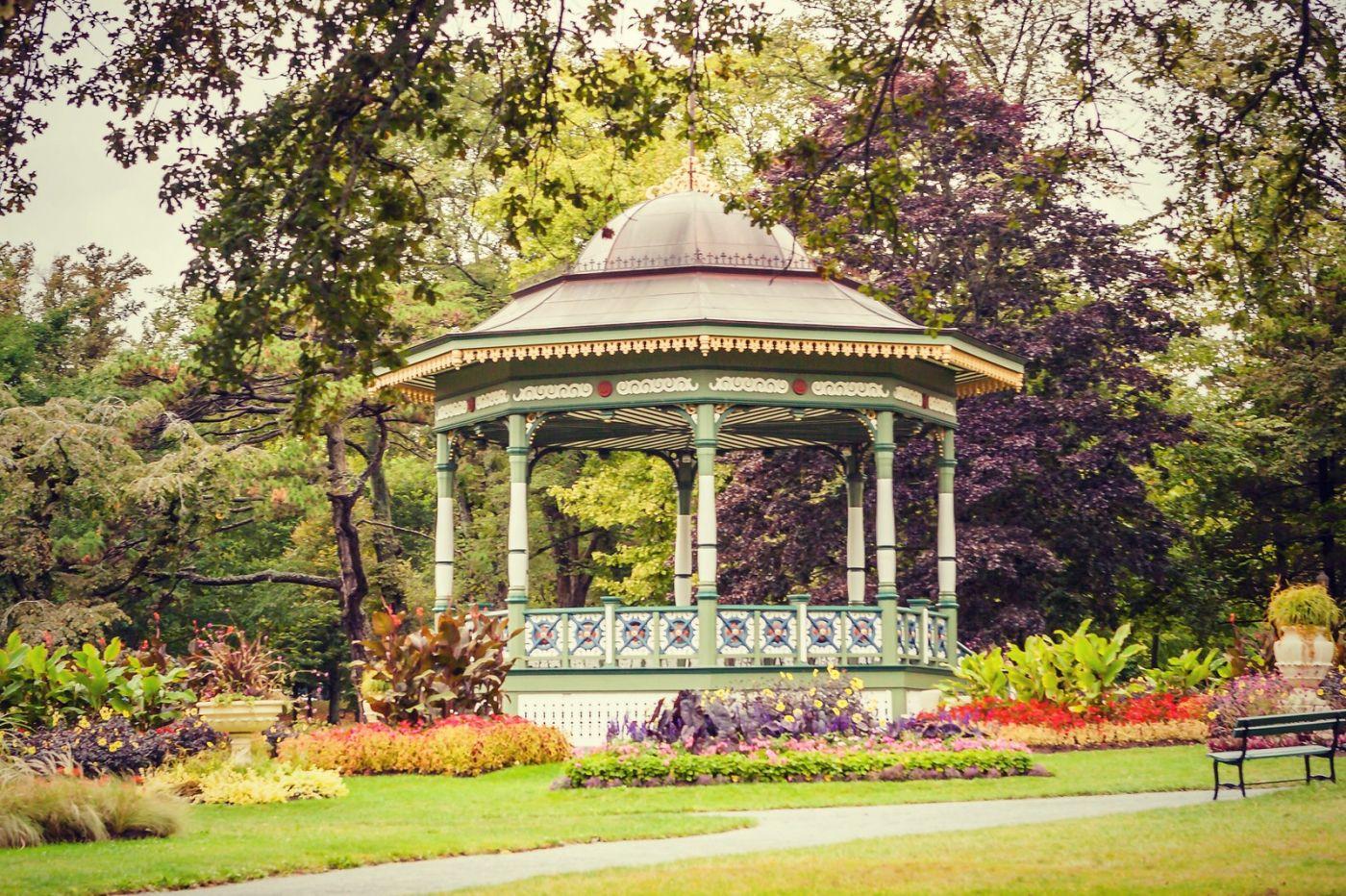 加拿大哈利法克斯(Halifax)公共花园,漂亮的花亭_图1-17