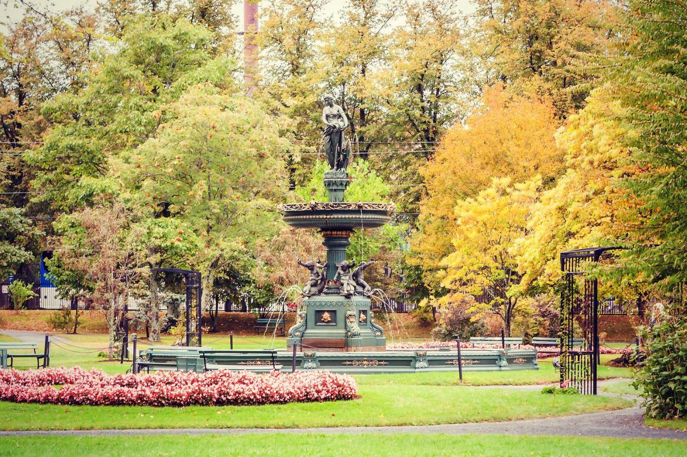 加拿大哈利法克斯(Halifax)公共花园,漂亮的花亭_图1-19