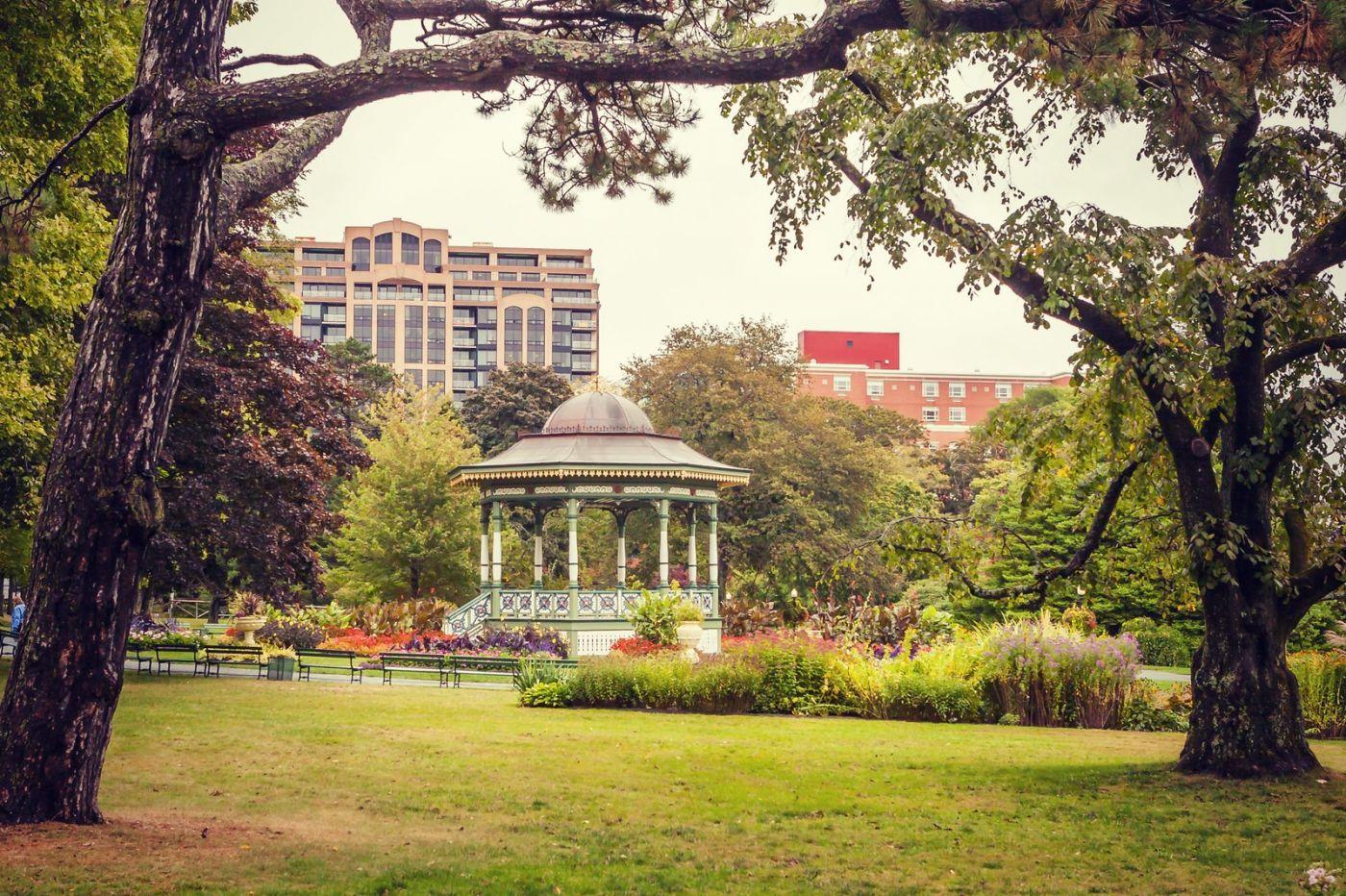 加拿大哈利法克斯(Halifax)公共花园,漂亮的花亭_图1-16