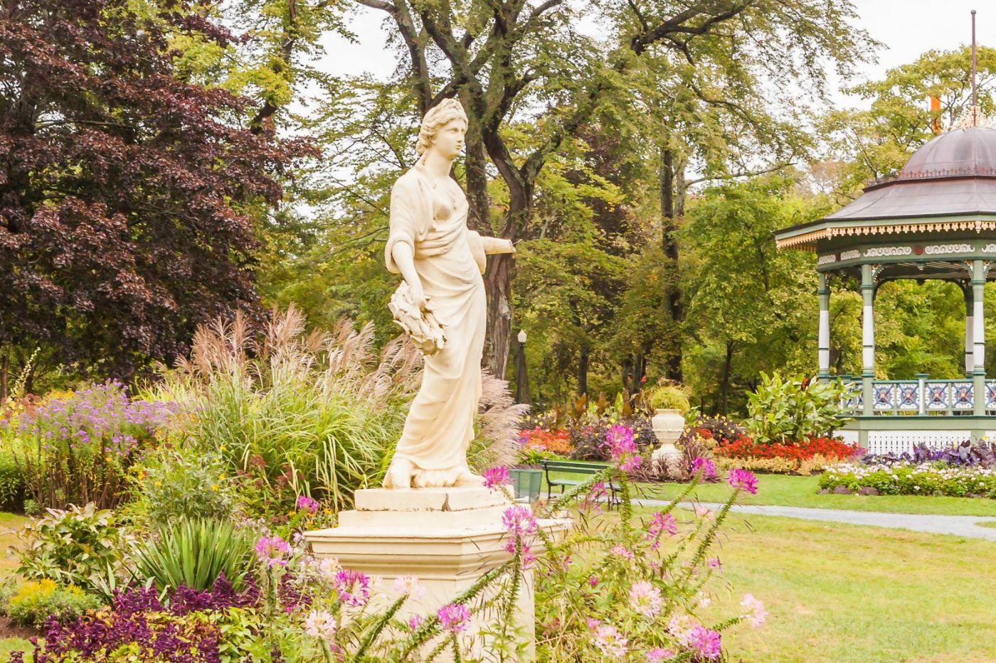 加拿大哈利法克斯(Halifax)公共花园,漂亮的花亭_图1-14