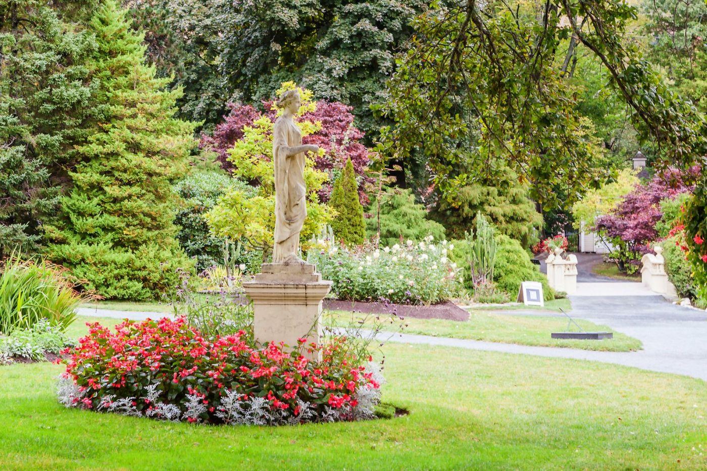 加拿大哈利法克斯(Halifax)公共花园,漂亮的花亭_图1-9