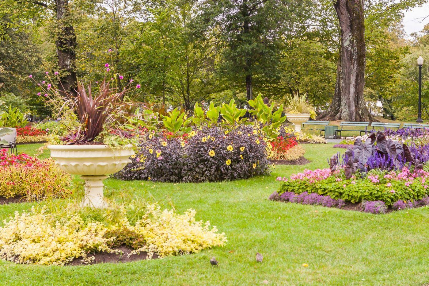 加拿大哈利法克斯(Halifax)公共花园,漂亮的花亭_图1-5