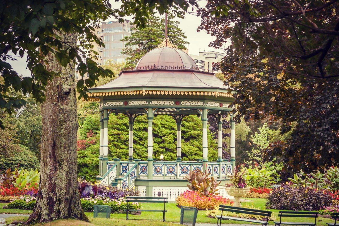 加拿大哈利法克斯(Halifax)公共花园,漂亮的花亭_图1-23