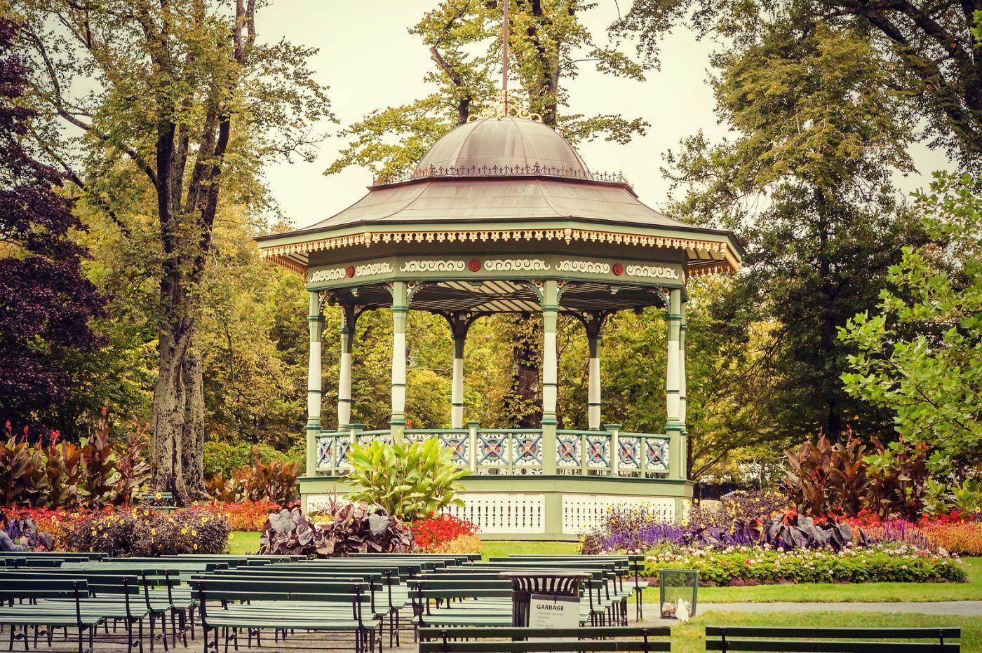 加拿大哈利法克斯(Halifax)公共花园,漂亮的花亭_图1-26