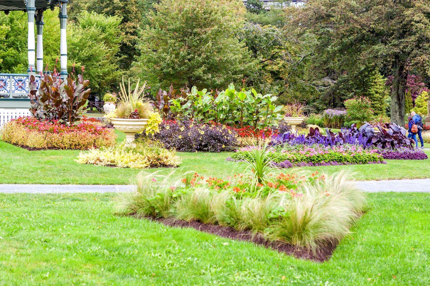 加拿大哈利法克斯(Halifax)公共花园,漂亮的花亭_图1-30