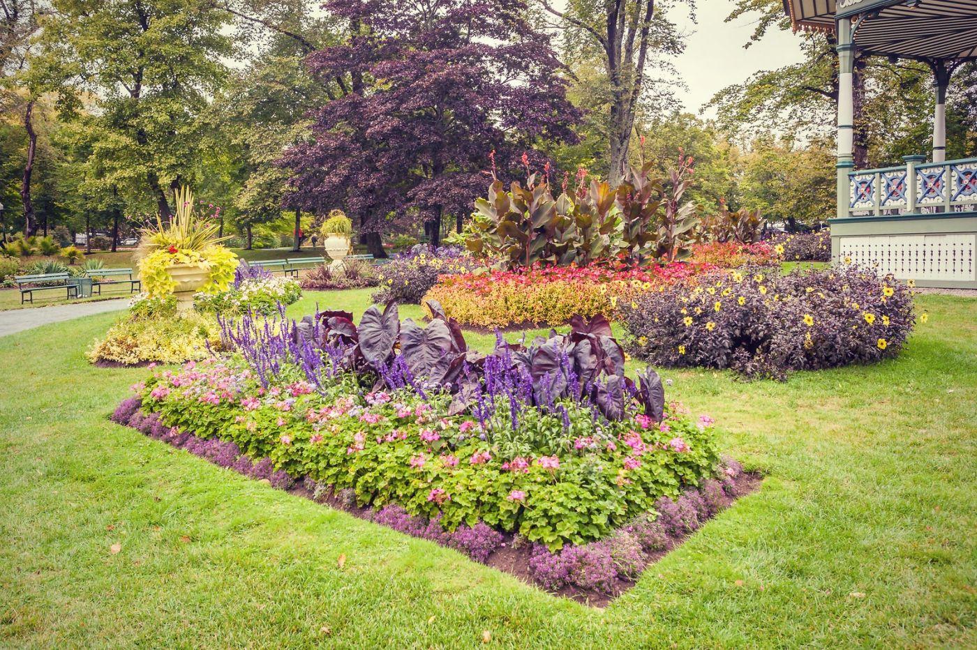 加拿大哈利法克斯(Halifax)公共花园,漂亮的花亭_图1-31