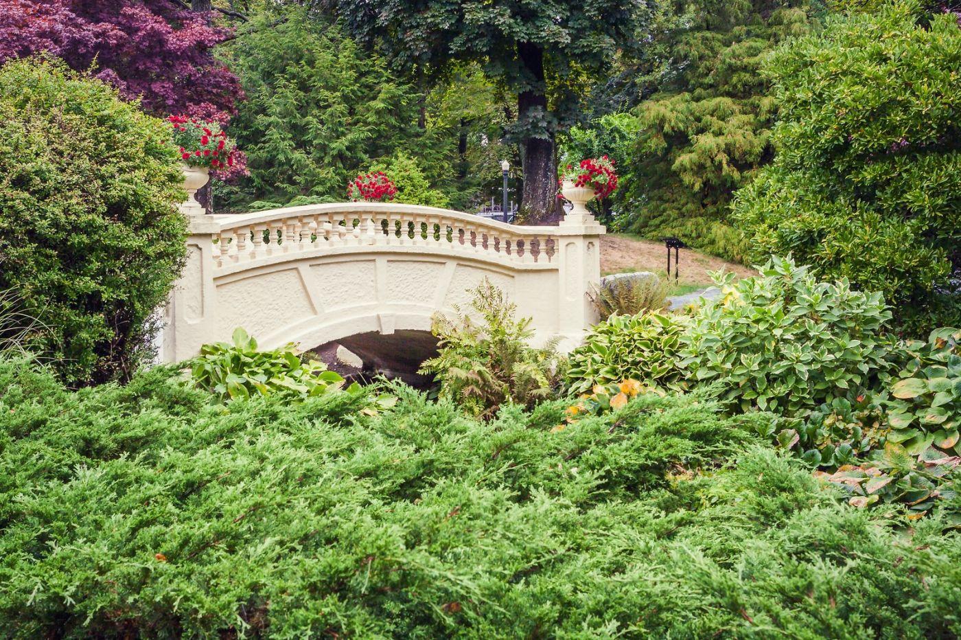 加拿大哈利法克斯(Halifax)公共花园,漂亮的花亭_图1-36