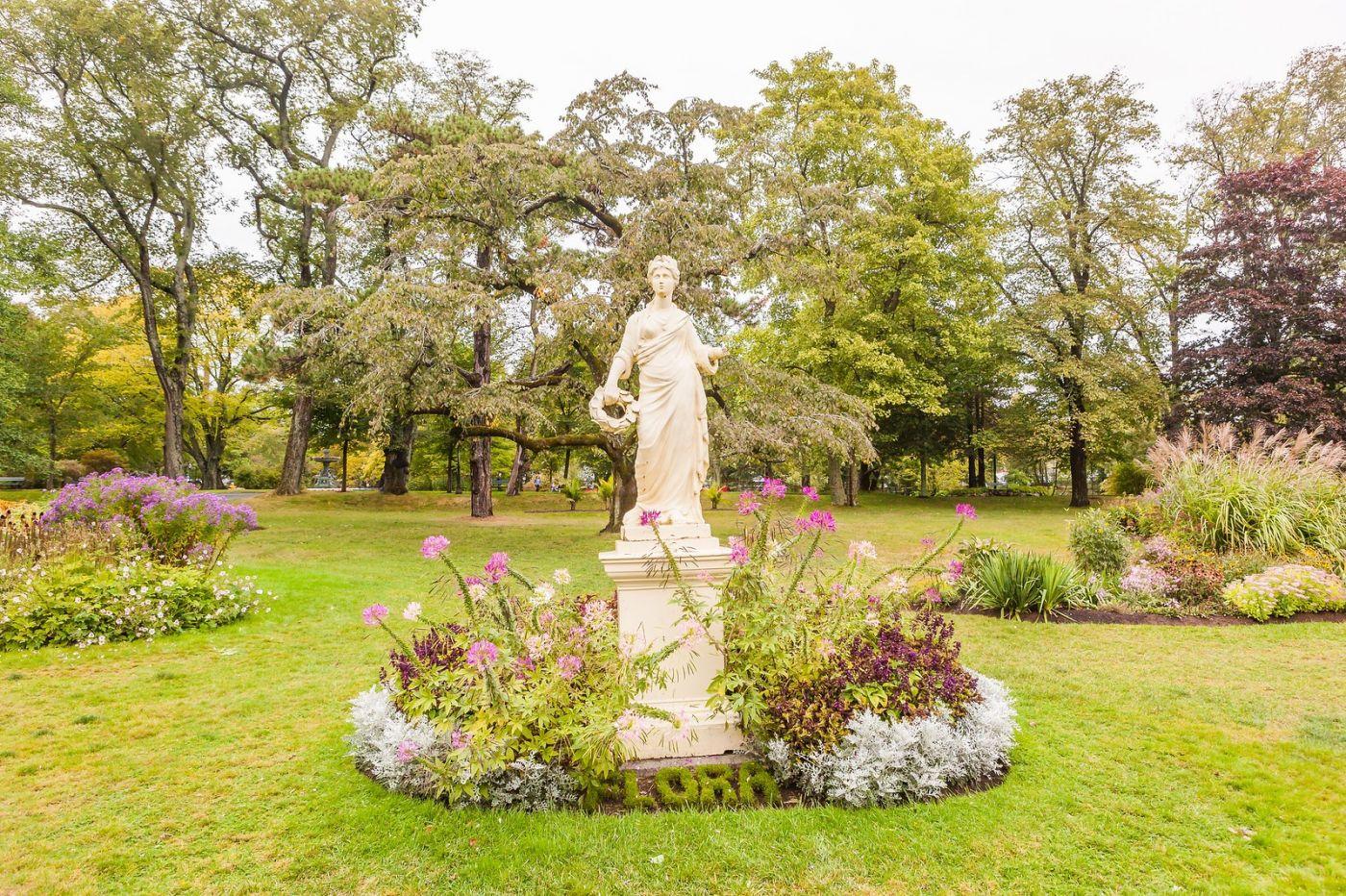 加拿大哈利法克斯(Halifax)公共花园,漂亮的花亭_图1-35