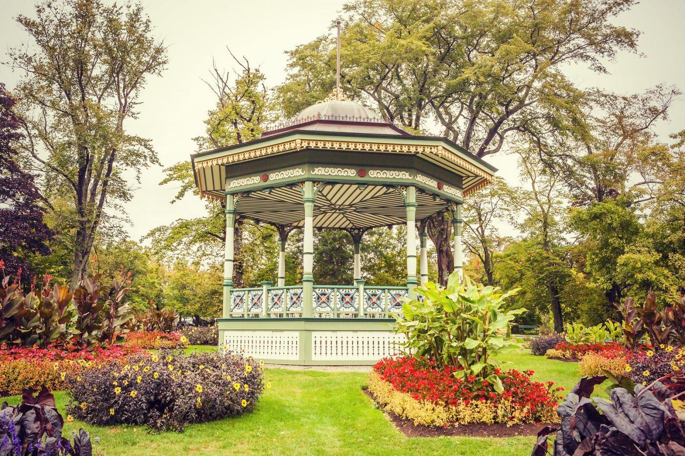 加拿大哈利法克斯(Halifax)公共花园,漂亮的花亭_图1-34
