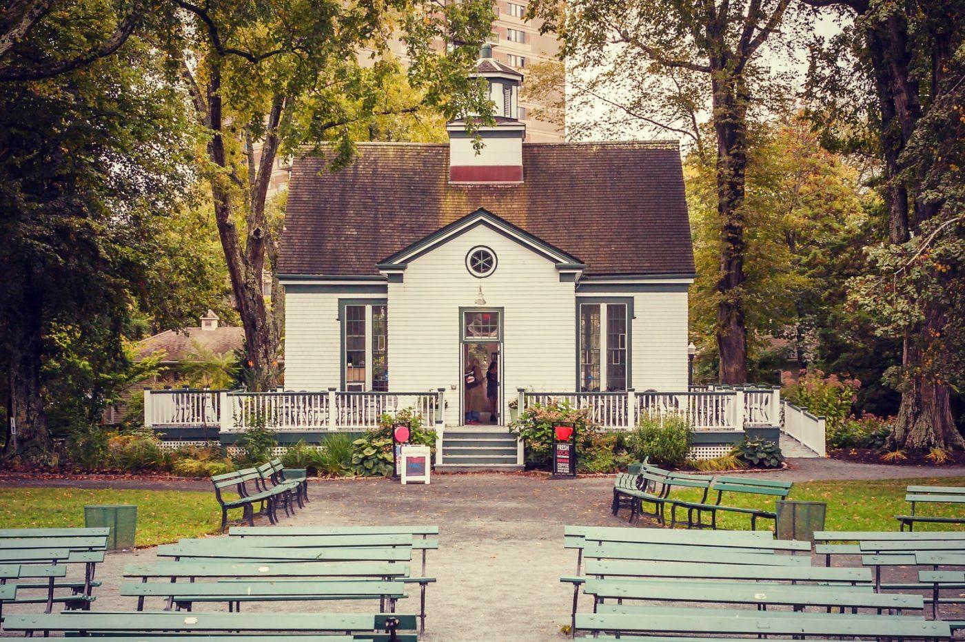 加拿大哈利法克斯(Halifax)公共花园,漂亮的花亭_图1-37