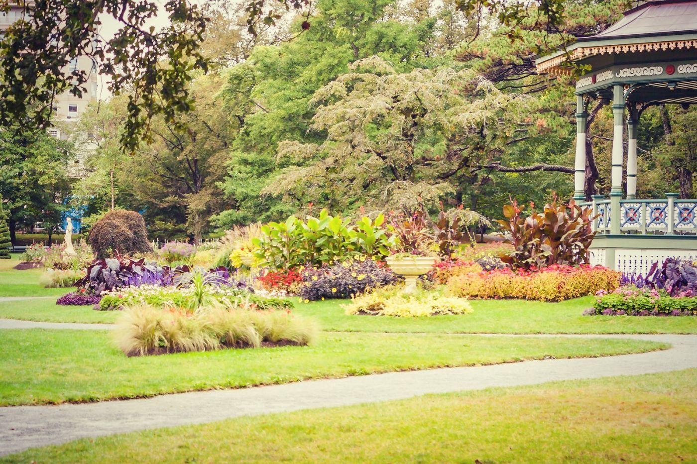 加拿大哈利法克斯(Halifax)公共花园,漂亮的花亭_图1-38